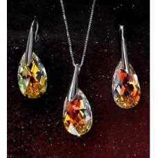 Комплект с кристаллами Сваровски 15709