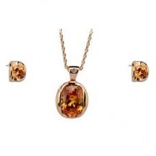 Комплект с кристаллами Сваровски 35378