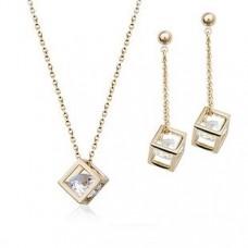 Комплект с кристаллами Сваровски 38327