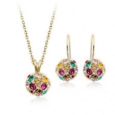 Комплект с кристаллами Сваровски 38481