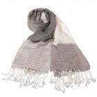 """Легкий шарф с небольшим """"жатым"""" эффектом V-04"""