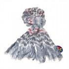 """Легкий шарф с небольшим """"жатым"""" эффектом Z-06"""