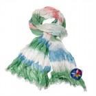 """Легкий шарф с небольшим """"жатым"""" эффектом Z-23"""