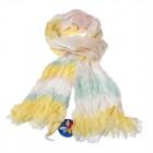 """Легкий шарф с небольшим """"жатым"""" эффектом Z-25"""